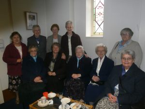 Sister Phyllis' Community present at Sister's Induction as Parish Sister. St Bede's September 2015